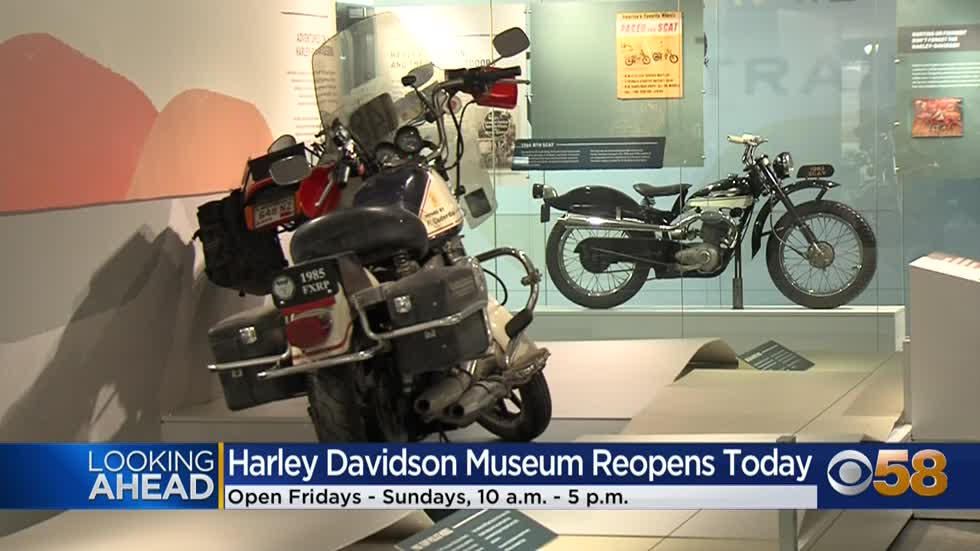 Two grand reopenings on Friday: Harley Davidson and Milwaukee...