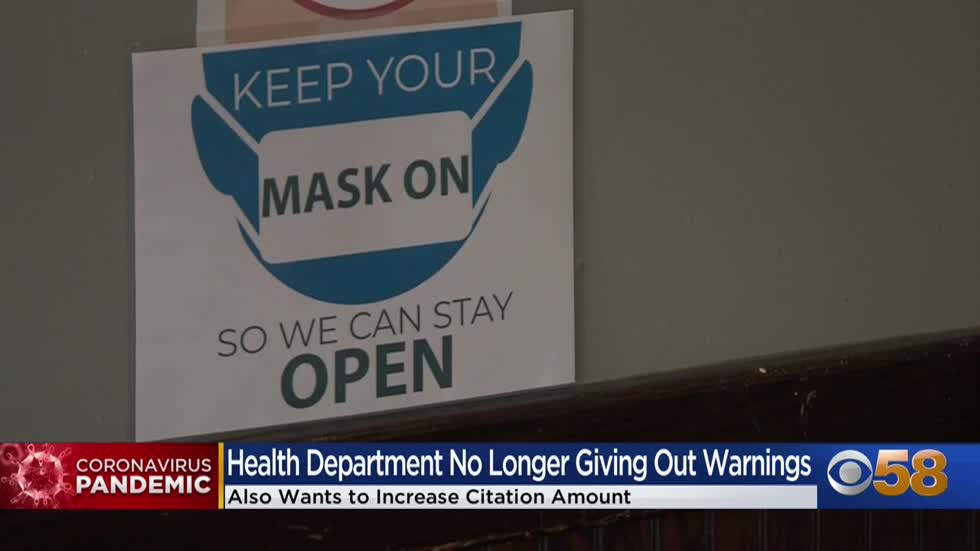 Milwaukee Health Department to increase citations for businesses...