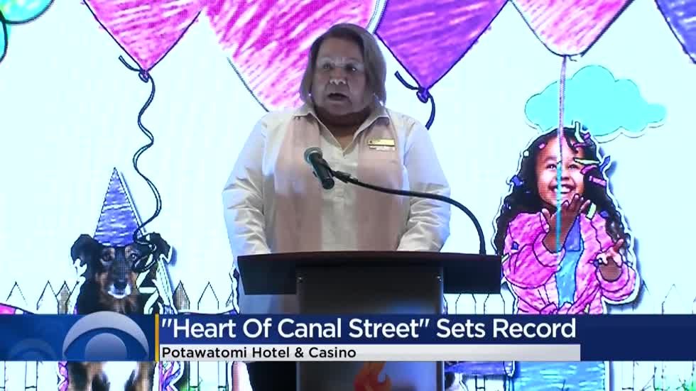 Heart of Canal Street campaign raises nearly $1.2 million for children's charities