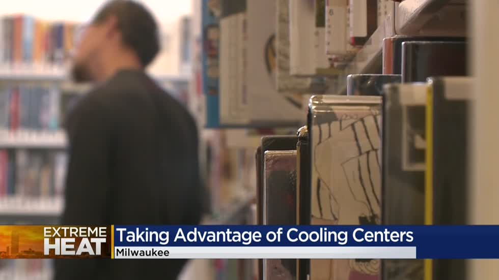 """It's so hot:"" Milwaukee Health Department urges people to stay cool"