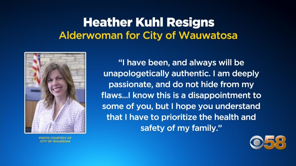 Wauwatosa alderperson Heather Kuhl resigns
