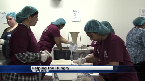 Ismaili Muslim Community packs meals for food pantries across the area