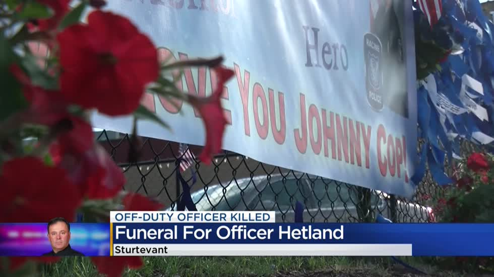 Local restaurant pays tribute to fallen Officer Hetland
