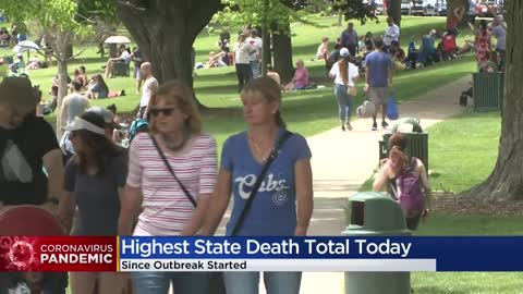 Wisconsin reports 22 COVID-19 deaths Wednesday in largest single-day total
