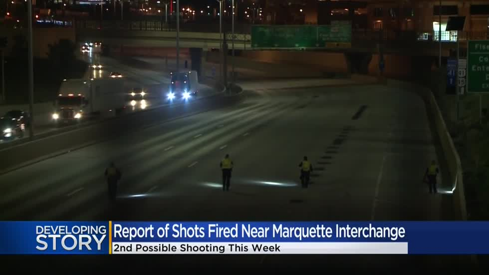 Sheriff's office looking to track down 2 suspects in Ford Taurus after shots fired on I-43
