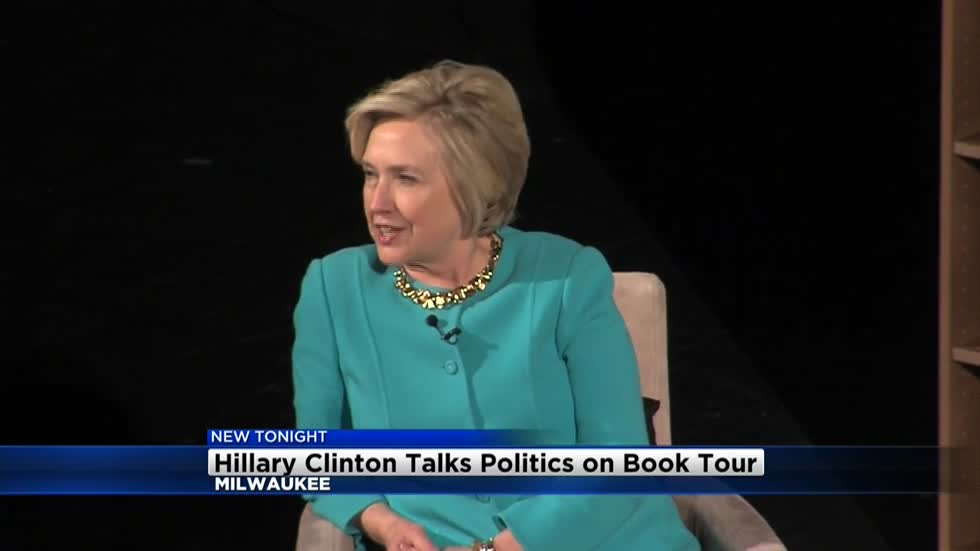 Hillary Clinton stops in Milwaukee to discuss new book