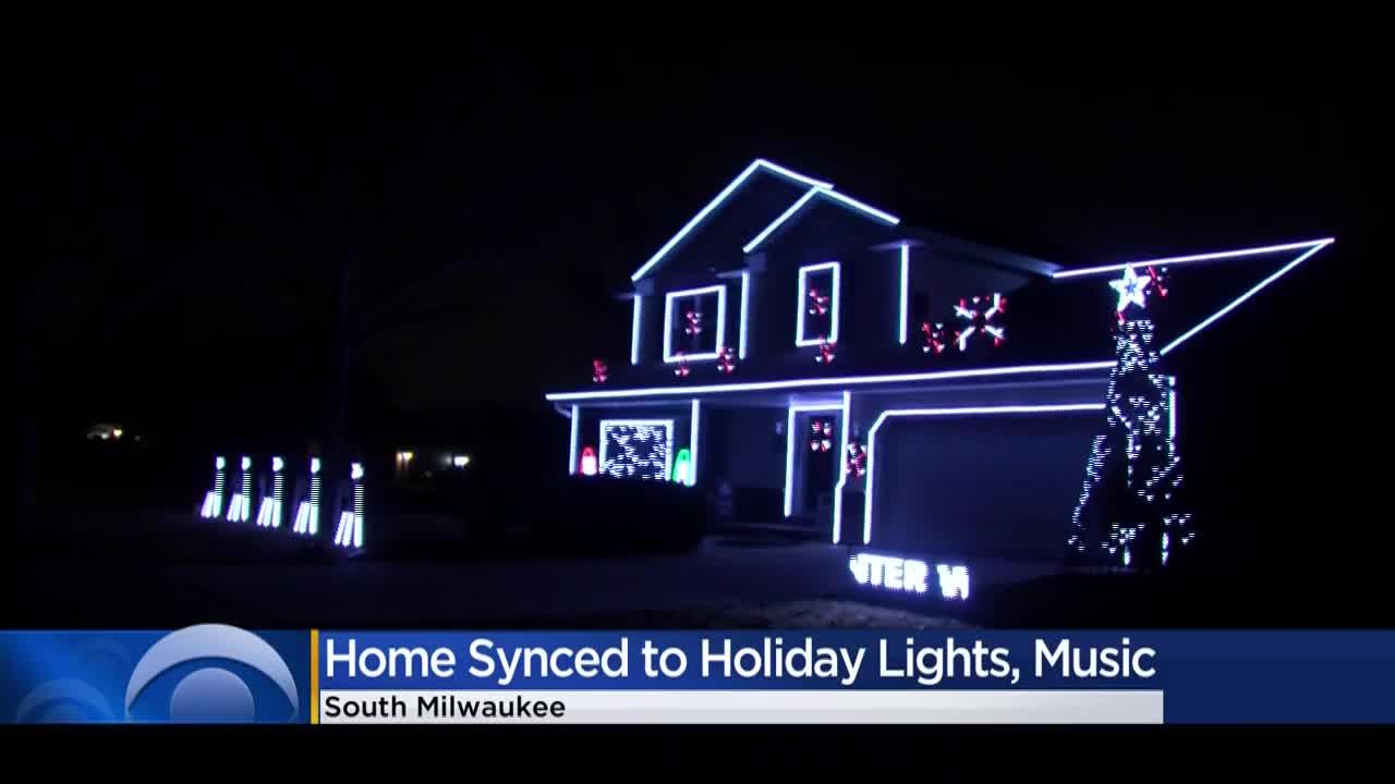 South Milwaukee Man Turns Home Into Holiday Lights Show