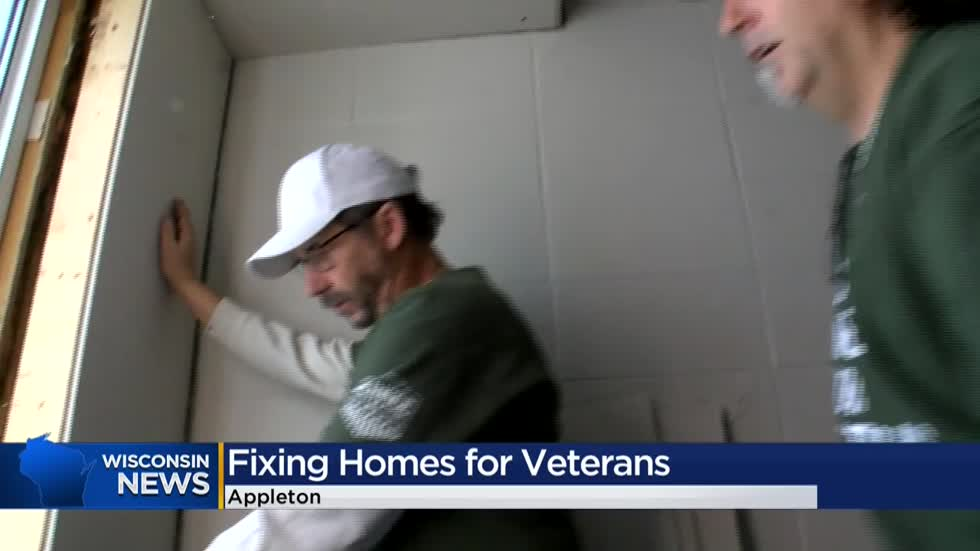 Home Depot employees fix up homes for homeless veterans
