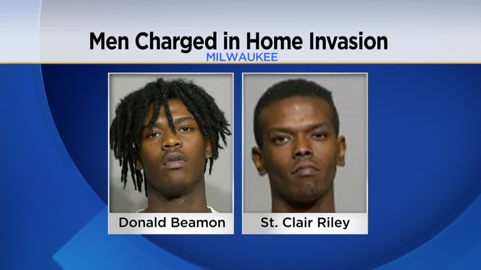 Two men charged after father and son attacked in Milwaukee home invasion