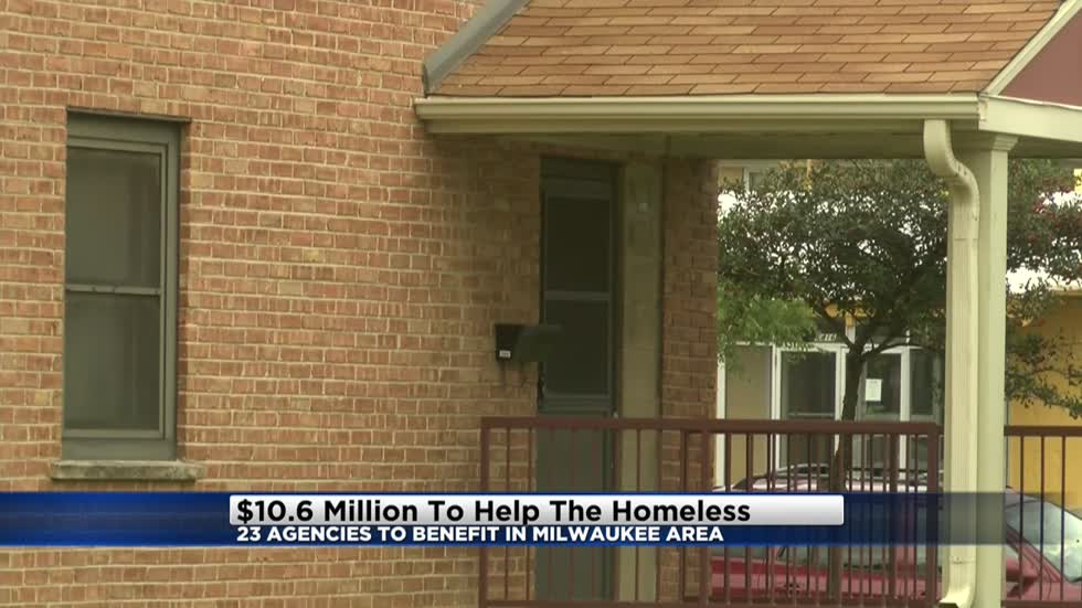 $10.6 million being pledged to 23 local agencies to help the homeless