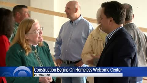 MacCanon Brown Homeless Sanctuary project near 24th and Center shows progress
