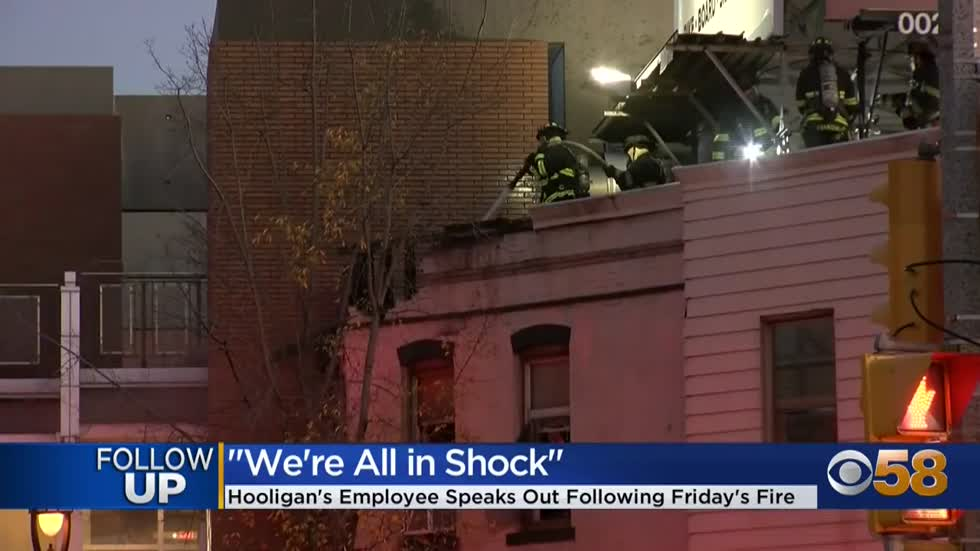 'It definitely leaves a void': East side community reacts after fire shuts down Hooligan's bar