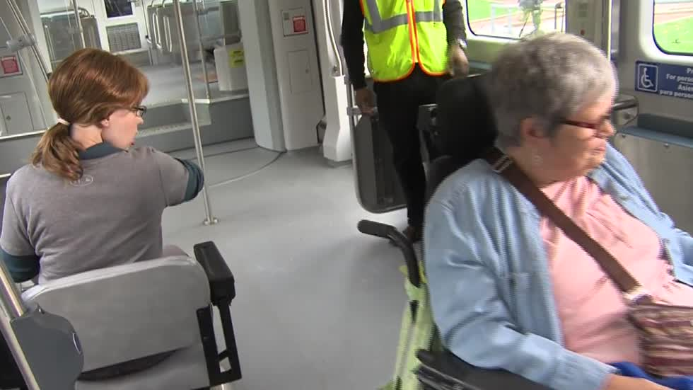 Event highlights streetcar accessibility for those with disabilities