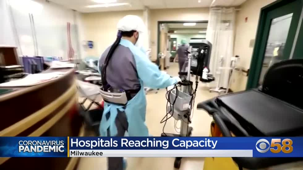 Hospitals already filling to capacity, could face possible holiday surge