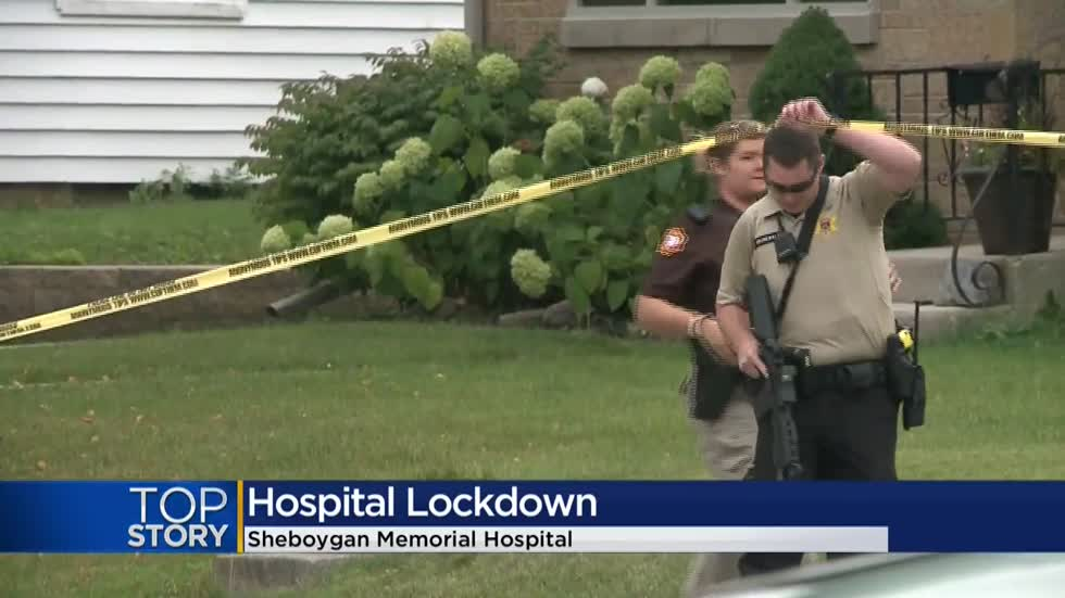 Police give all-clear at Sheboygan Memorial Hospital after man surrenders