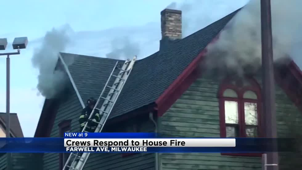 Fire breaks out in vacant home on Milwaukee's lower east side