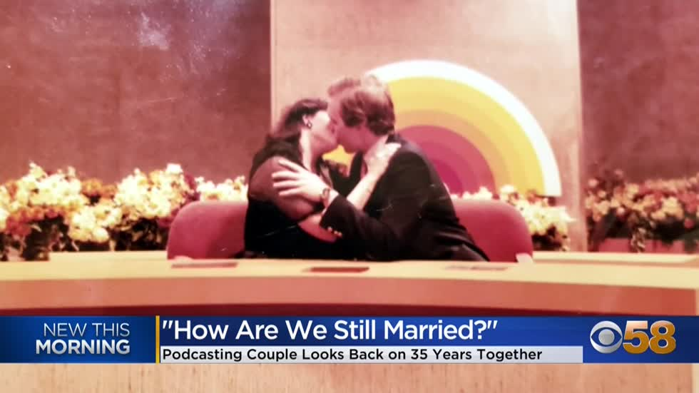 'How are we still married? Podcasters talk moving 35 times in 35 years of marriage