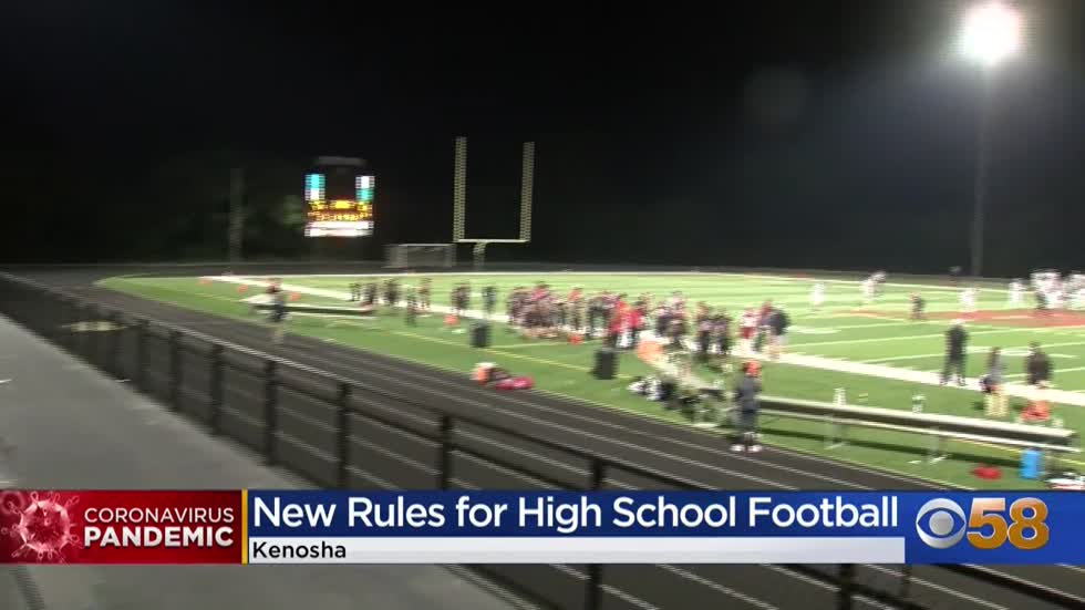 High school fall football games begin amid pandemic, some districts...