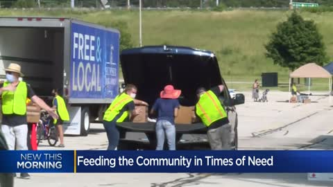Hunger Task Force feeding the community in times of need