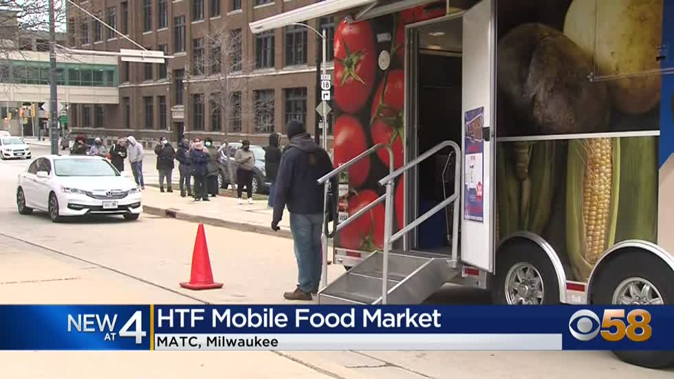 MATC hosts Hunger Task Force Mobile Market to help students with food insecurity