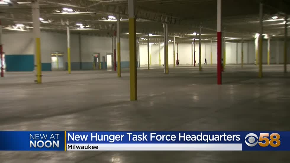 'Footprint has expanded': Hunger Task Force buys 120,000 sq. ft. warehouse in West Milwaukee