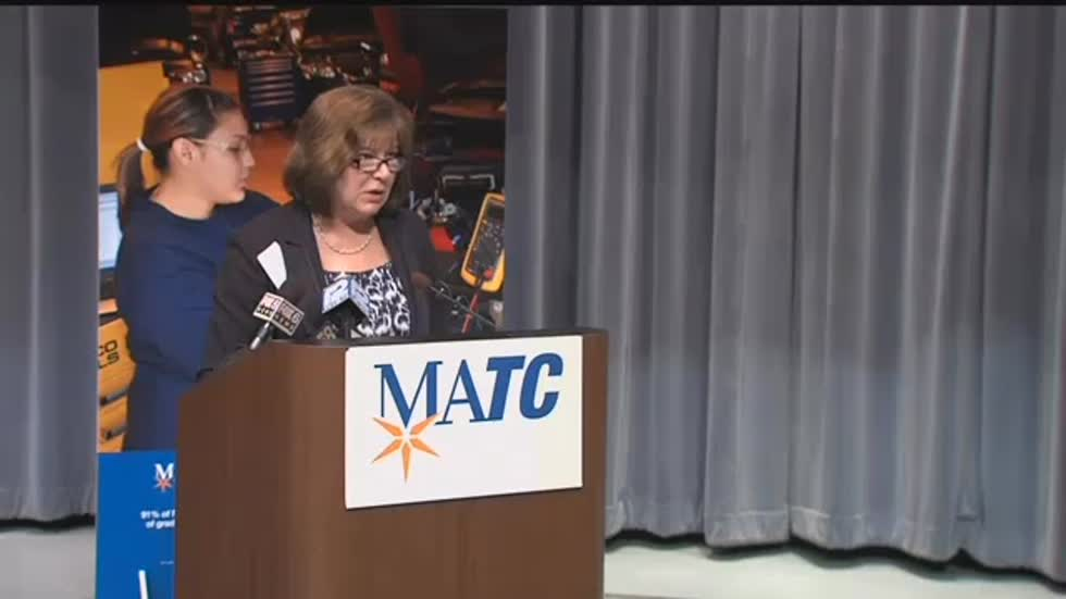Hurvis Gives Grant to MATC for Automotive Program