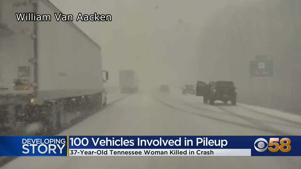 100 vehicles involved in deadly chain of accidents on I-41, Washington...