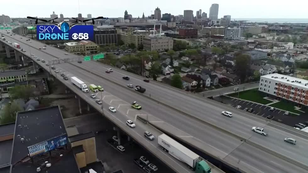 UPDATE: I-43/94 SB reopened at National Avenue