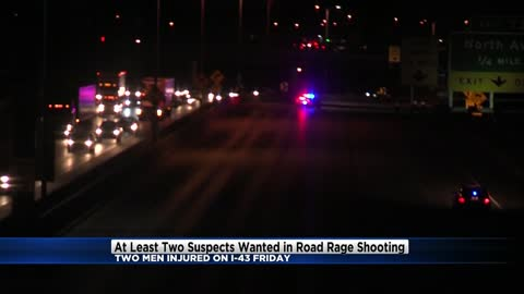 Milwaukee County Sheriff's Office needs your help tracking down suspects involved in I-43 shooting