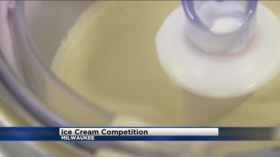 MPS students participate in ice cream making competition