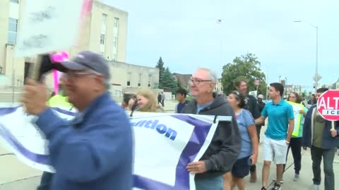 Rally is held in Racine against recent ICE raids