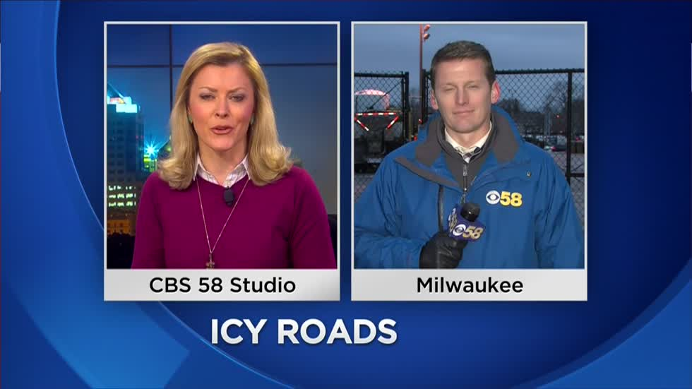 More than 100 trucks salting roads in Milwaukee County ahead of second round of icy weather