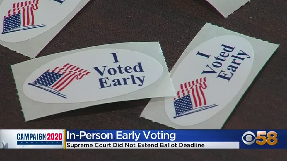 Early voting in full swing with Election Day one week away