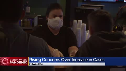 Wisconsin COVID-19 cases increase as Milwaukee prepares for phase 4 reopen