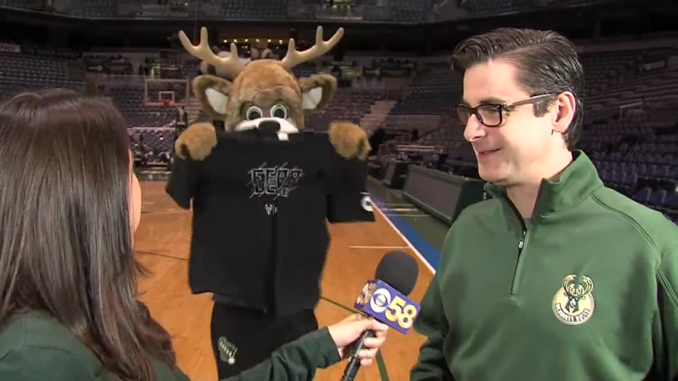 Preview festivities to Bucks Game 6
