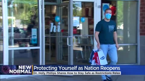 Doctor offers advice on how to protect yourself as the nation reopens amid COVID-19 pandemic
