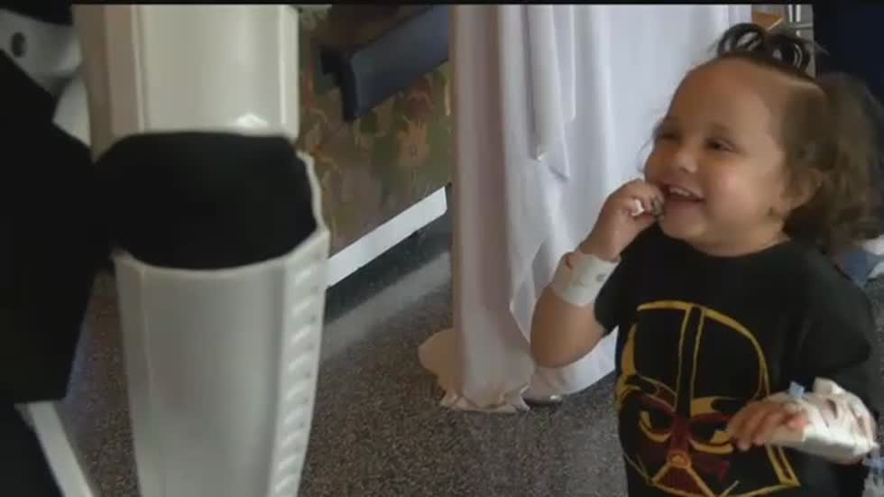 """It was amazing:"" Children's Hospital Celebrates Star Wars Day"