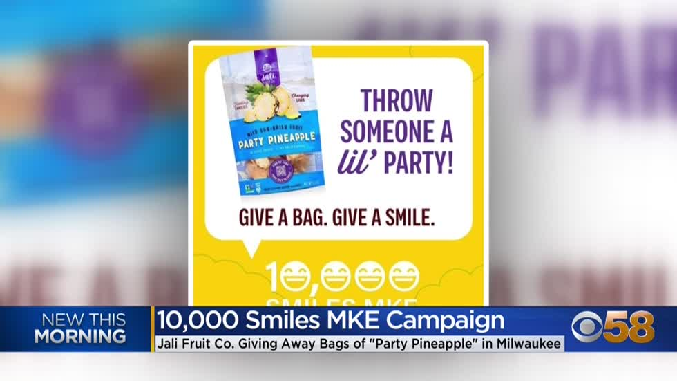 Milwaukee start-up launches '10,000 Smiles MKE Campaign'