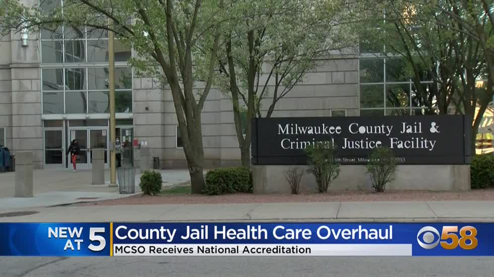 Milwaukee County Jail earns accreditation from the National Commission...