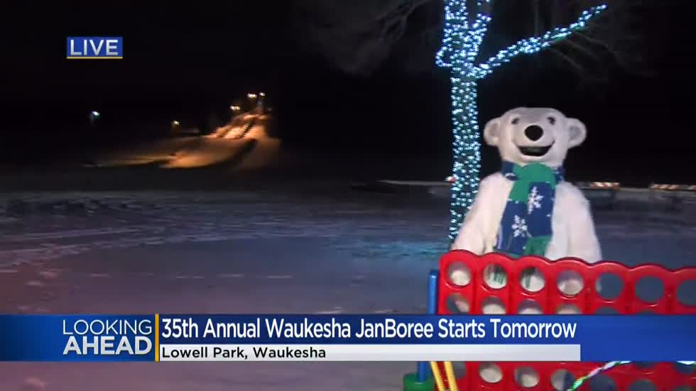 Wintertime and 'Waukesha JanBoree' make a nice pairing starting Friday, Jan. 17