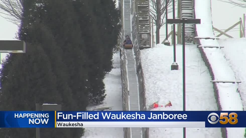 Enjoy a winter weekend at Waukesha's annual Janboree☃️