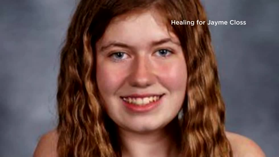 Wisconsin's Jayme Closs thanks well-wishers for support