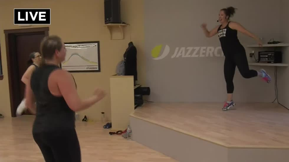 Pick up the beat with Jazzercise