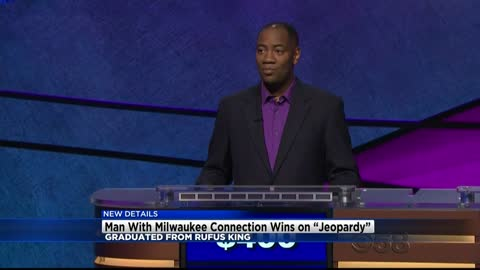 Rufus King graduate is now five-time champion on Jeopardy!