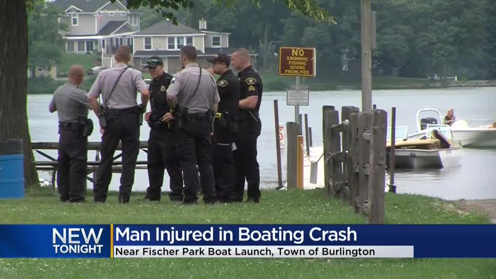 Jet-ski accident sends man to hospital in Racine County