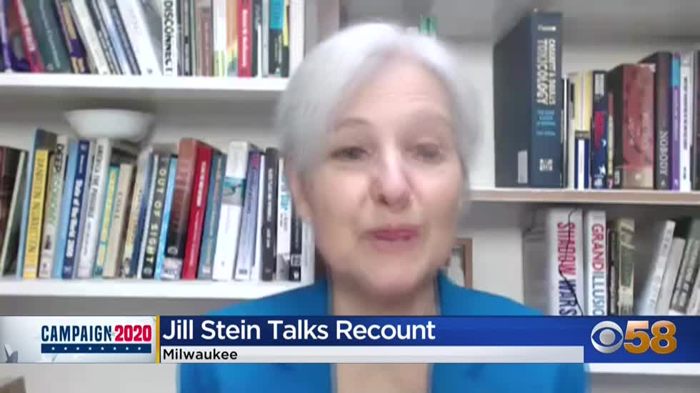 2016 Green Party candidate Jill Stein says Trump's recount efforts 'self-serving'