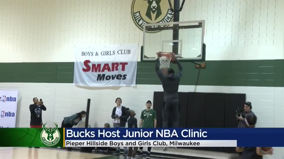 Bucks' Jr. NBA clinic gets kids connected to the game