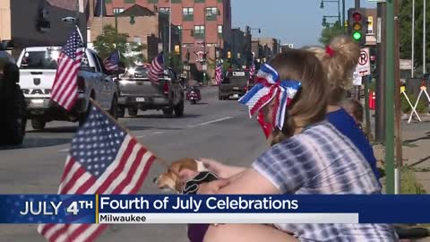 Locals celebrate Fourth of July holiday despite living in COVID-19...