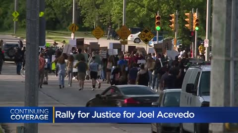 'Justice for Joel:' Demonstrators demand Milwaukee Officer Mattioli be held accountable for death of 25-year-old