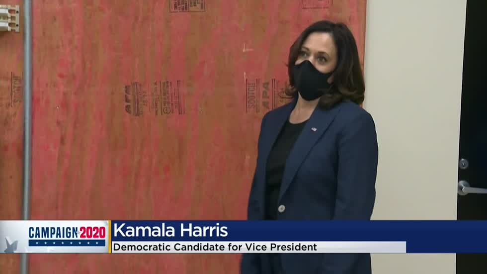 Kamala Harris' Milwaukee stops include tour of IBEW training factory, roundtable with Black business owners